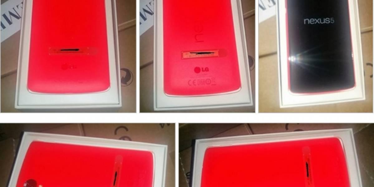 """Aparecen imágenes de un Nexus 5 """"Red Edition"""""""