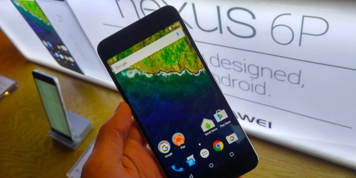 El Nexus 6P por fin llega a México