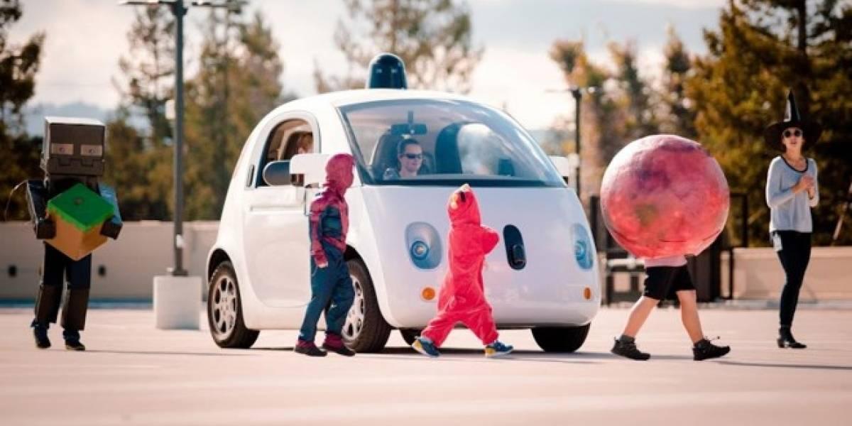 Google aprovechó Halloween para mejorar detección de niños en sus coches