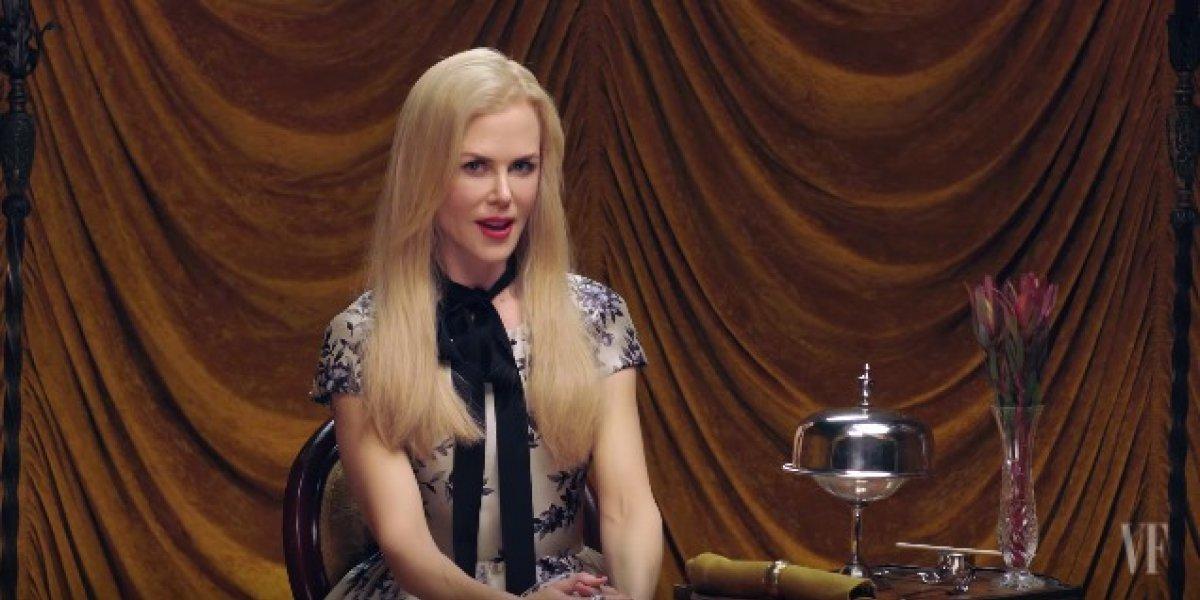 Nicole Kidman captura tarântula gigante e vídeo faz sucesso no Instagram