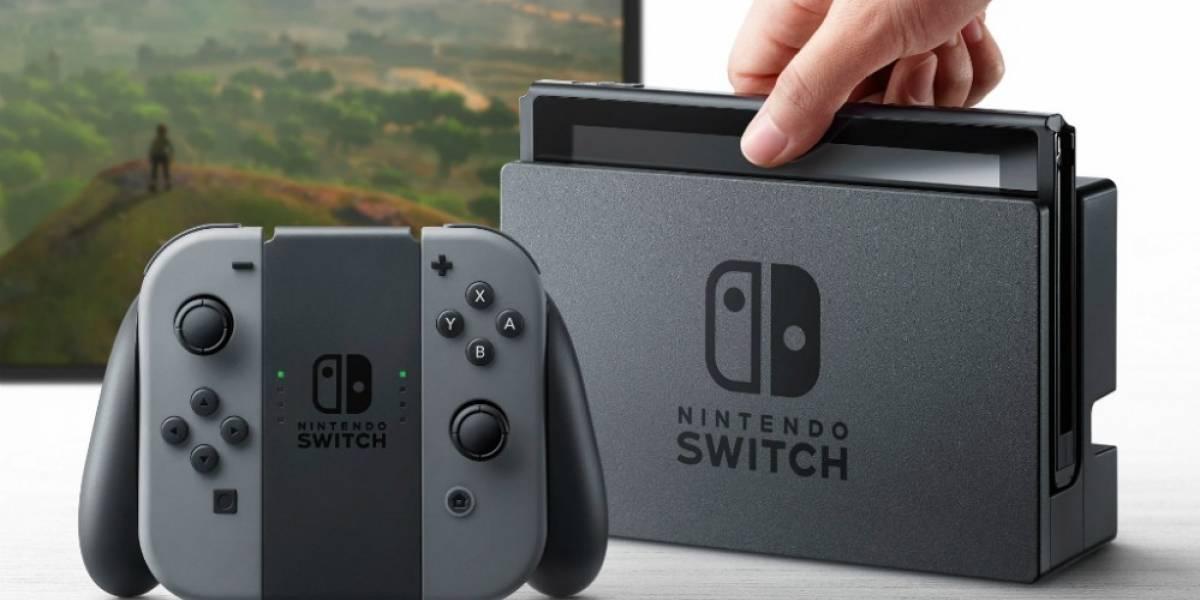 Compañías de videojuegos saludan a Nintendo por el lanzamiento de la Switch