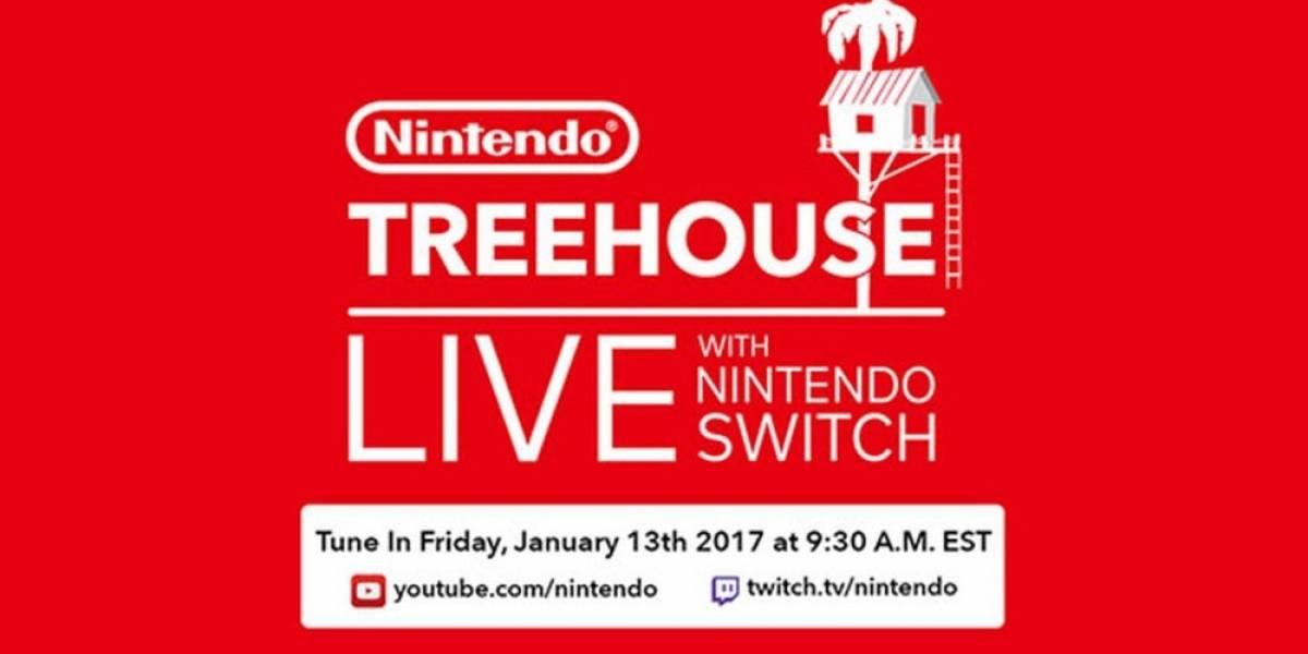 Mira la transmisión de Nintendo Treehouse sobre la Nintendo Switch