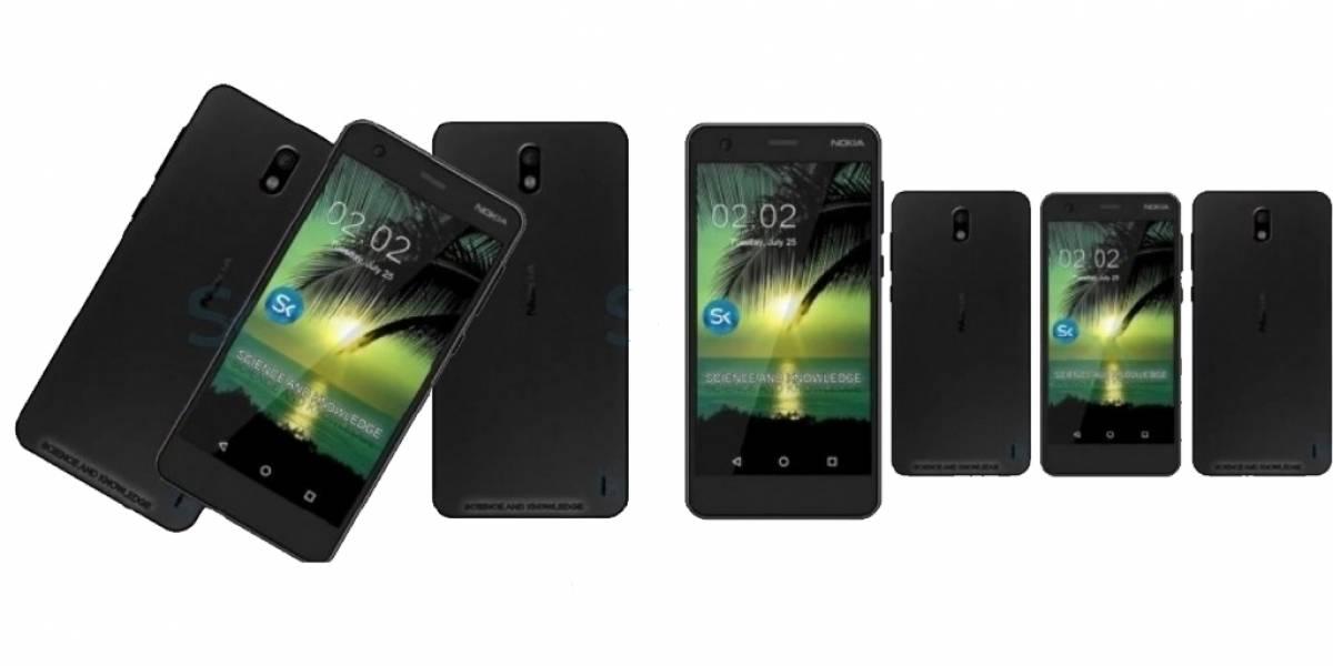 Nokia 2 se deja ver en un interesante render