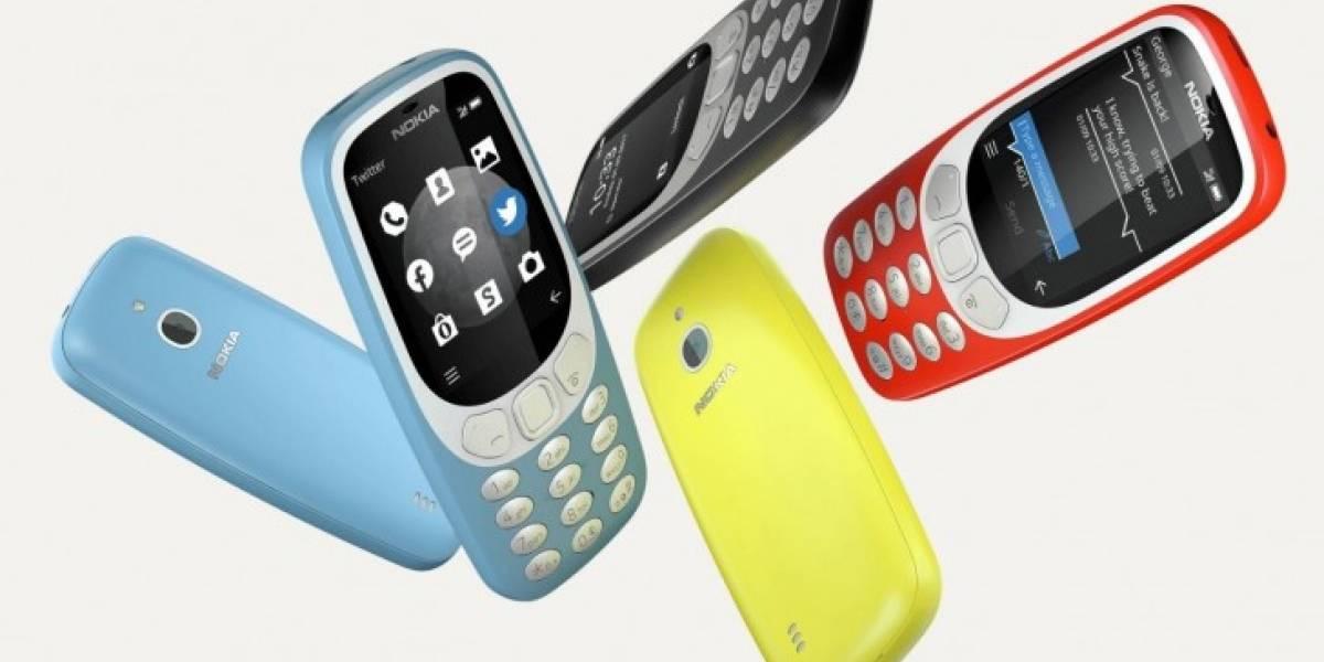 La versión 3G del Nokia 3310 ya es oficial