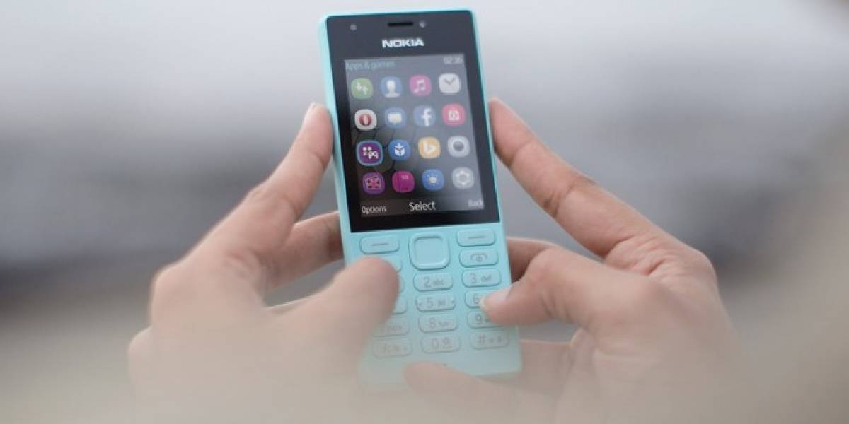 Microsoft anuncia su último teléfono básico: El Nokia 216