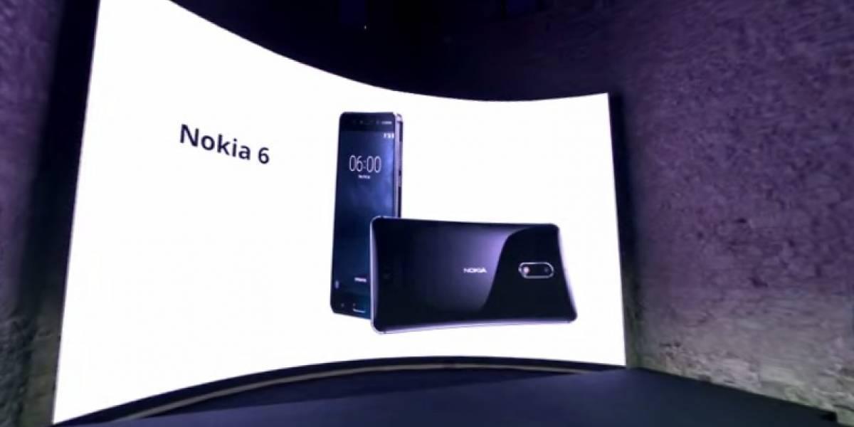 Este es el Nokia 6 que llegará a Latinoamérica
