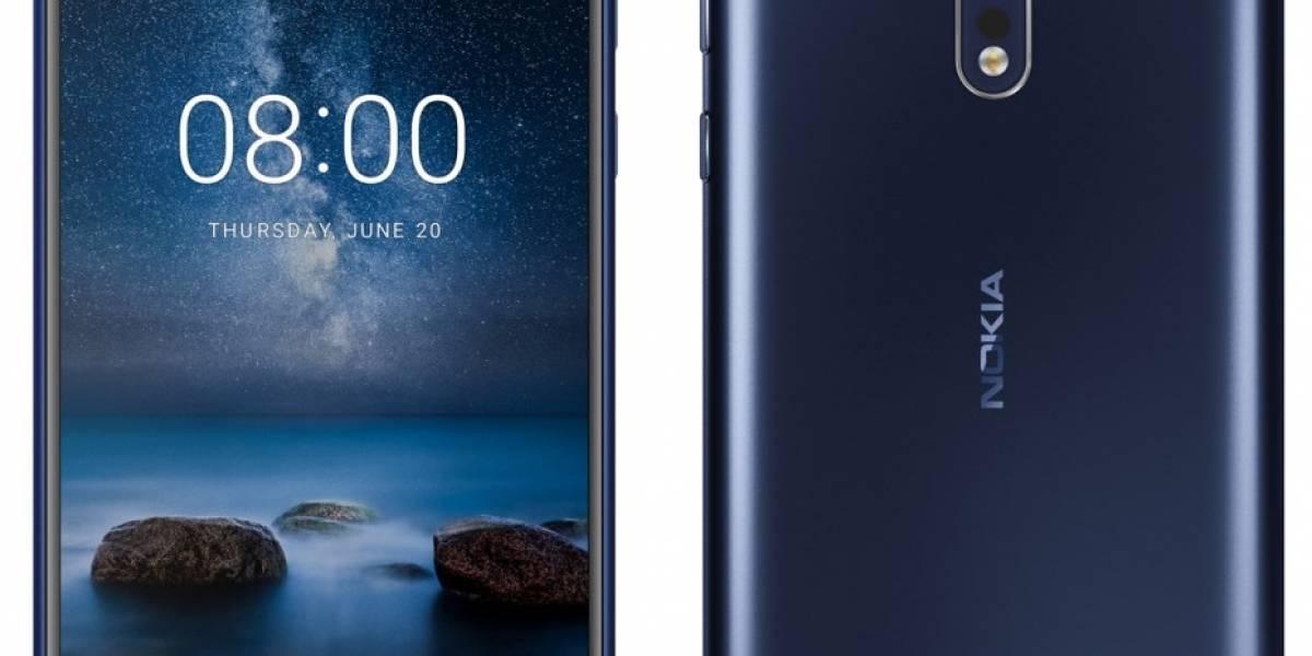 El Nokia 8 se deja ver en fotos mostrando sus especificaciones