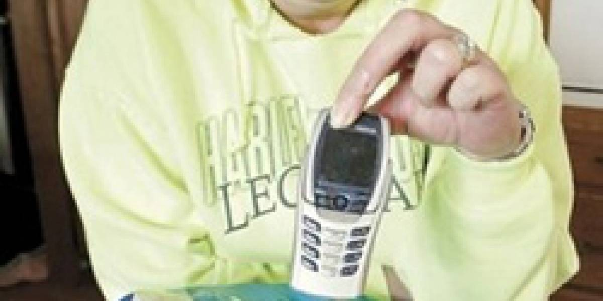 Un Nokia usado venía en bolsa de papas fritas
