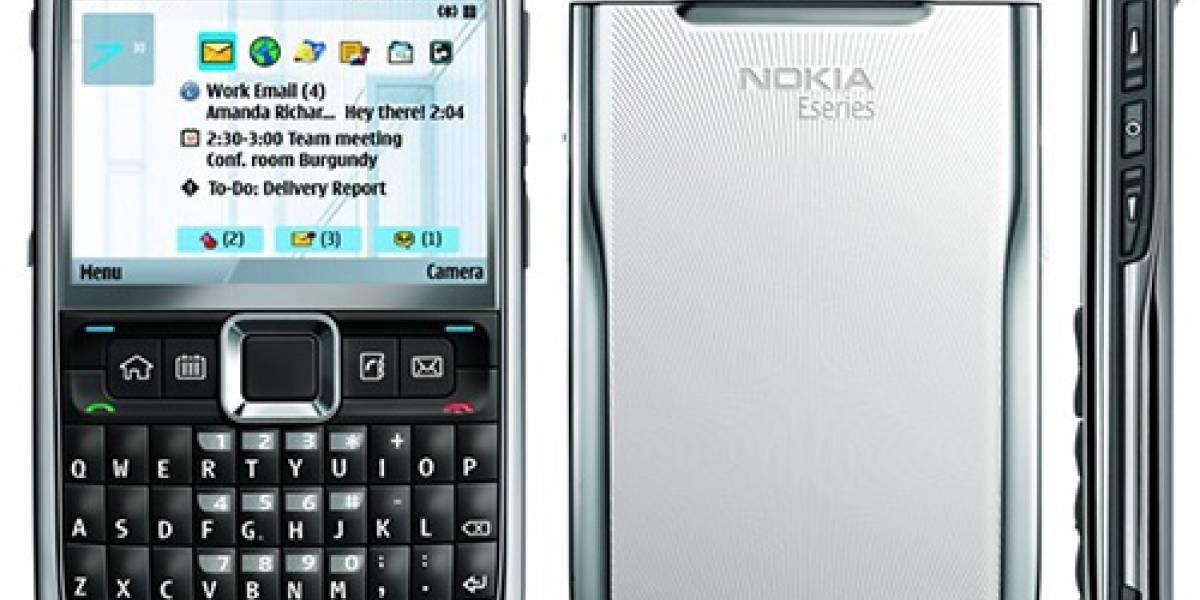 Nokia E71, lo mejor para traer en el bolsillo este año