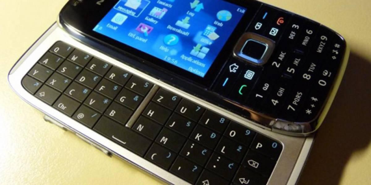 Galería de imágenes del aún no lanzado Nokia E75