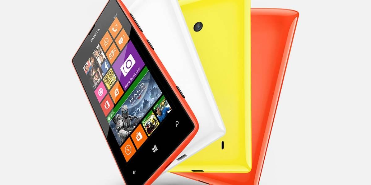 Nokia Lumia 525, actualización del Lumia 520