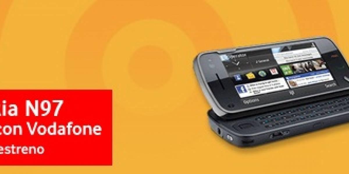 España: Nokia N97 en Vodafone a partir del 1 de julio