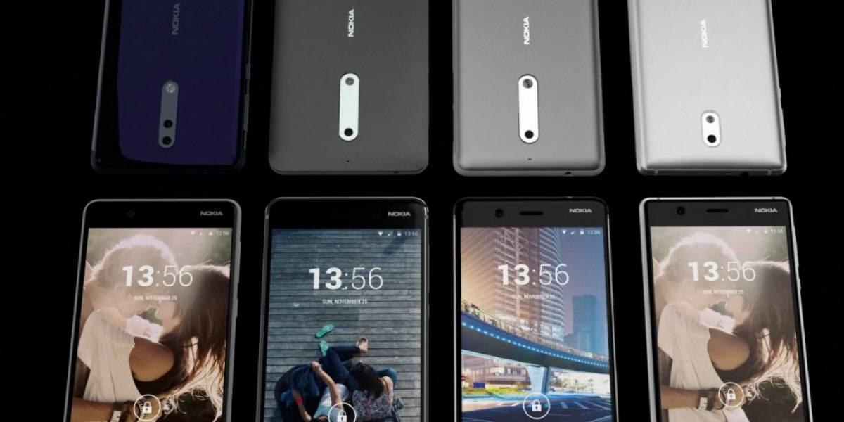 Filtran video de cuatro teléfonos Nokia, tres conocidos y uno con cámara dual