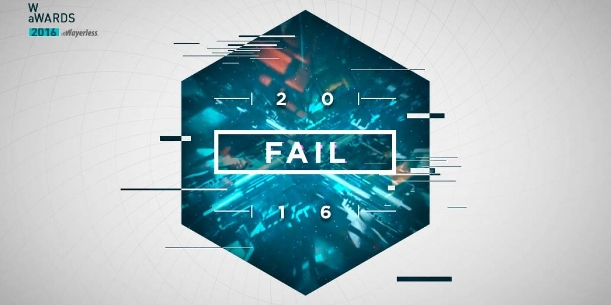 Vota por el Fail del 2016 [W aWards]