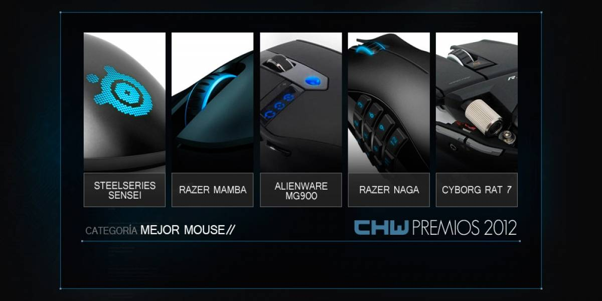 [VOTACIONES] Mejor mouse 2012