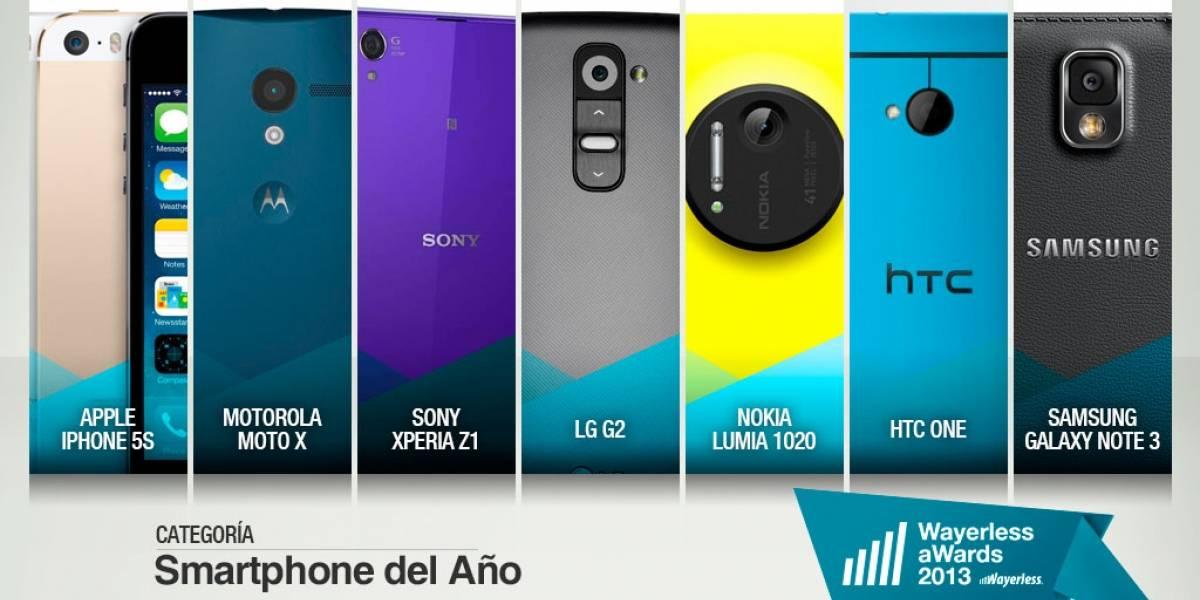 Elige al Smartphone del Año 2013 [W aWards]