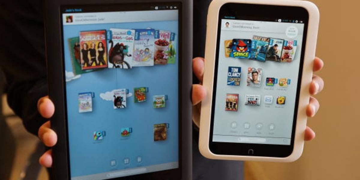 Barnes & Noble lanza sus nuevas tabletas Nook HD y Nook HD+