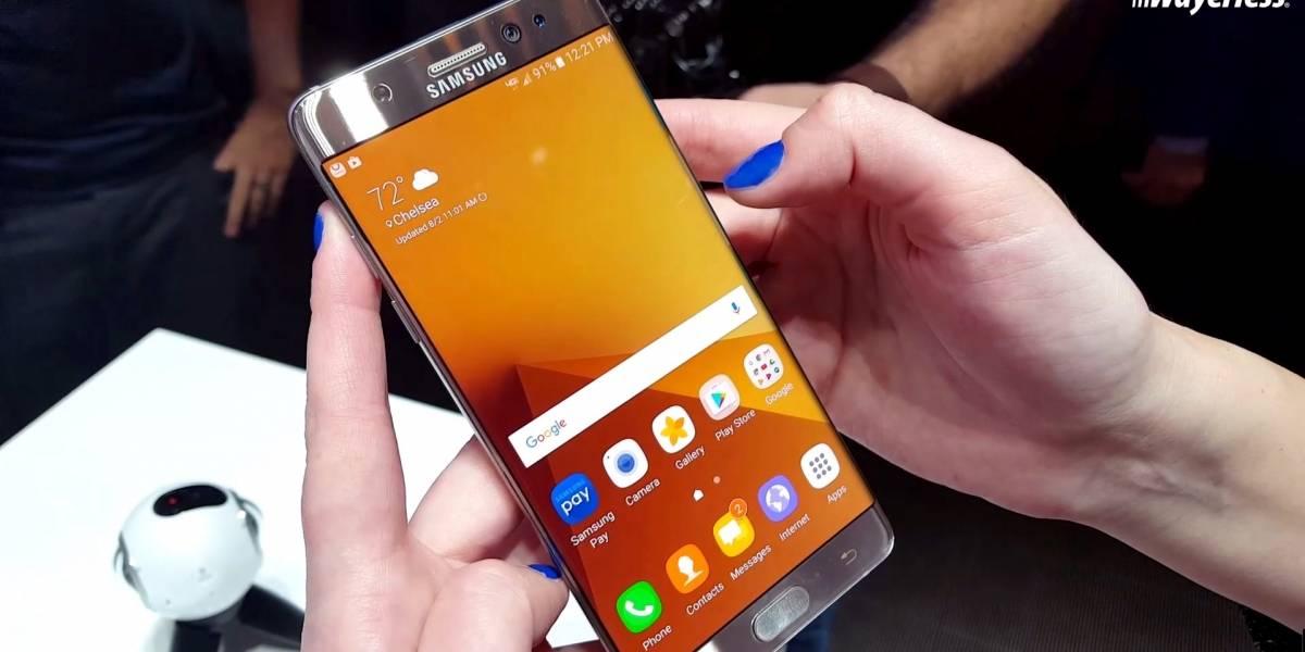 Samsung podría vender Galaxy Note 7 reconstruidos