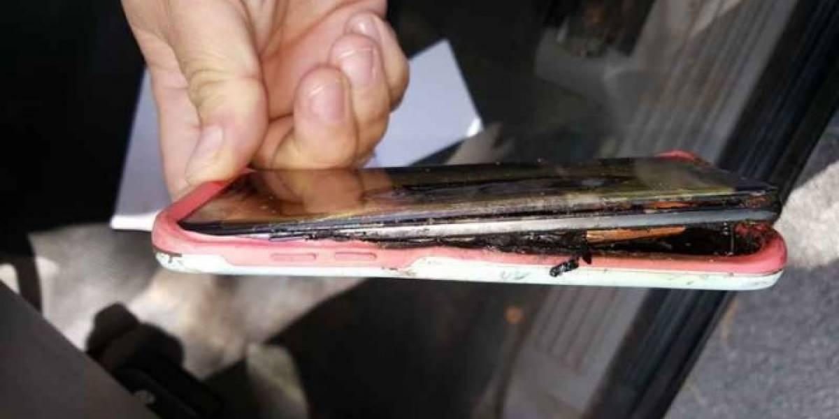 Surgen más reportes de Galaxy Note 7 que se incendian