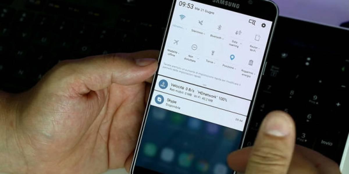 Samsung alista la actualización a Android Nougat para sus Galaxy S7