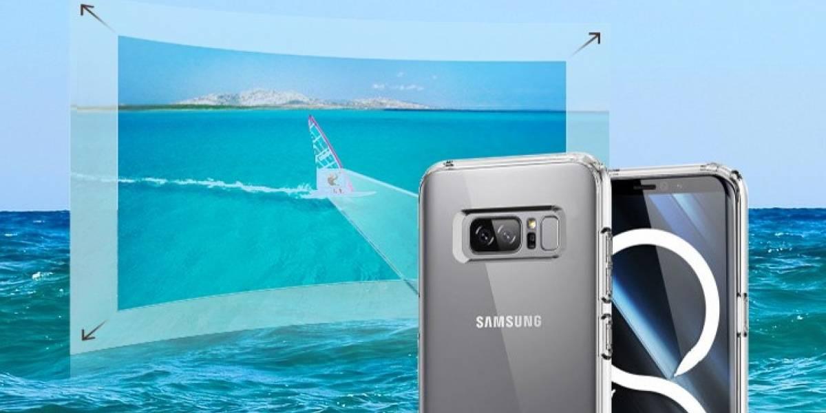 Al fin se sabe la razón de la doble cámara del Samsung Galaxy Note 8