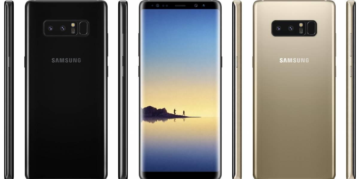 El Samsung Galaxy Note 8 se deja ver en fotos filtradas