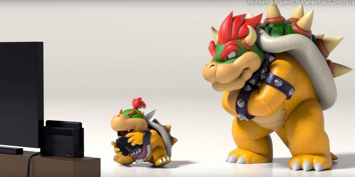 Nintendo Switch permitirá controlar el tiempo de juego desde tu celular