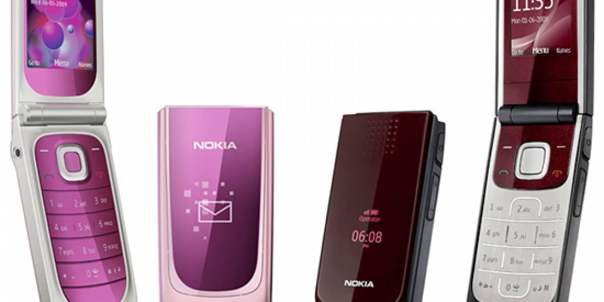 Dos nuevos clamshells básicos de Nokia