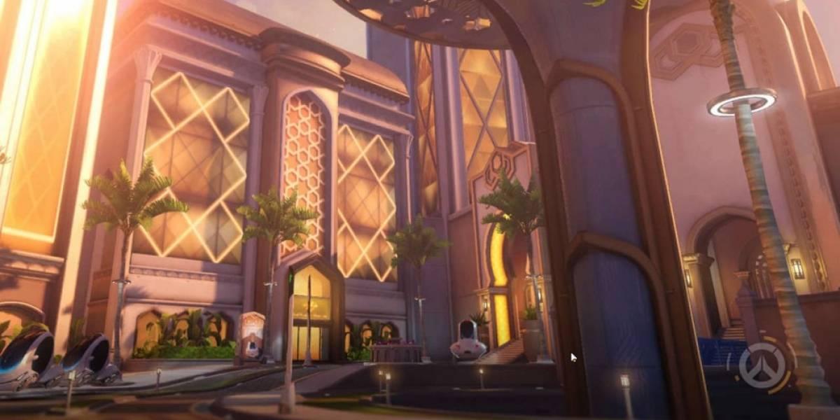 El nuevo mapa Oasis ya está disponible en Overwatch