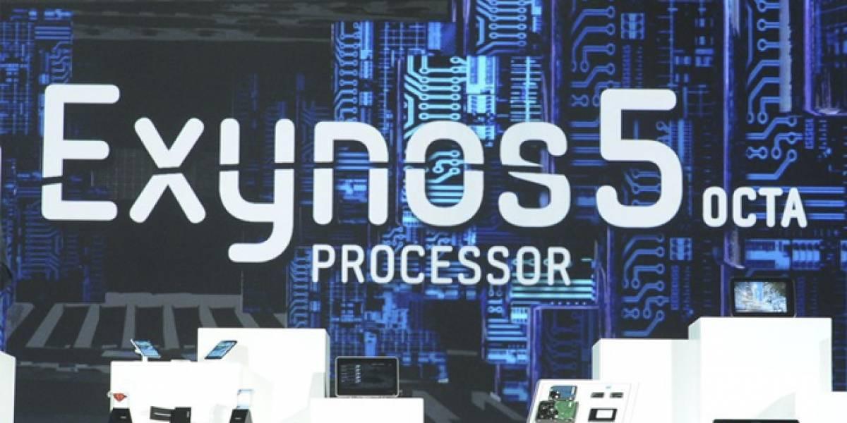 CES 2013: Samsung presenta el procesador Exynos 5 Octa para móviles de ¡ocho núcleos!