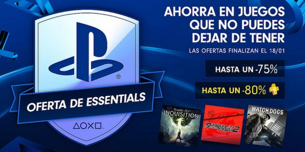 Sony anuncia la venta especial PlayStation Essentials