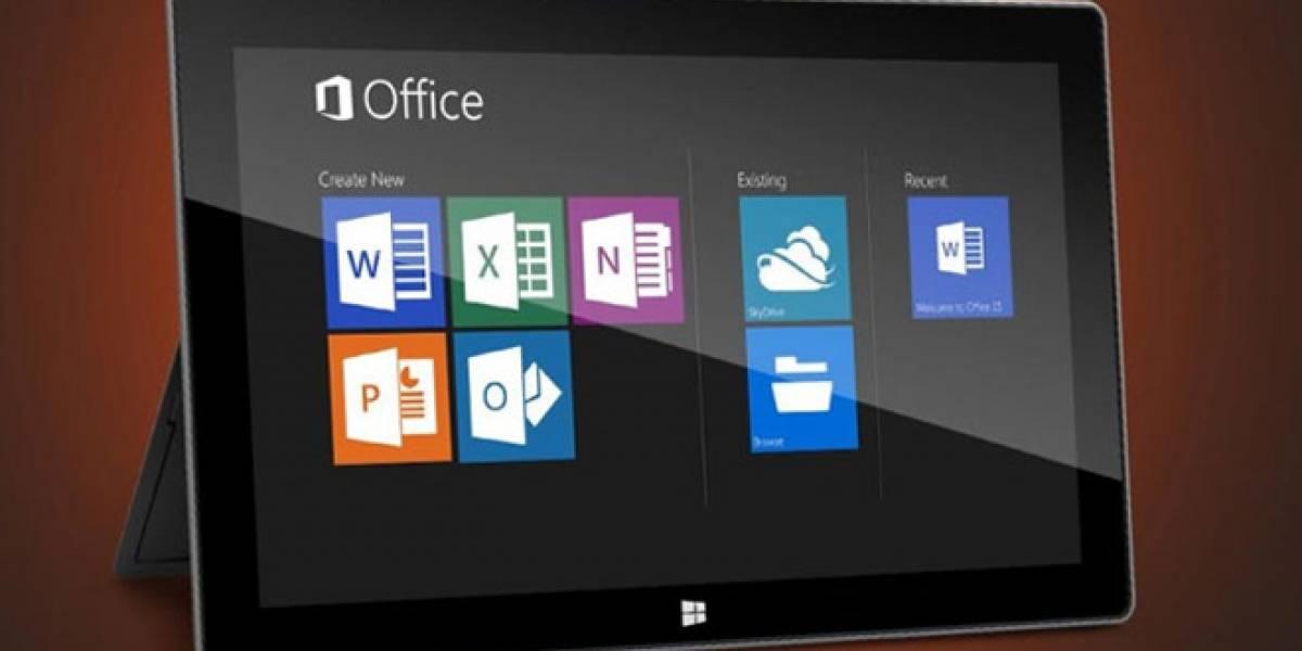 Algunas funciones de Office 2013 para Windows RT serían quitadas