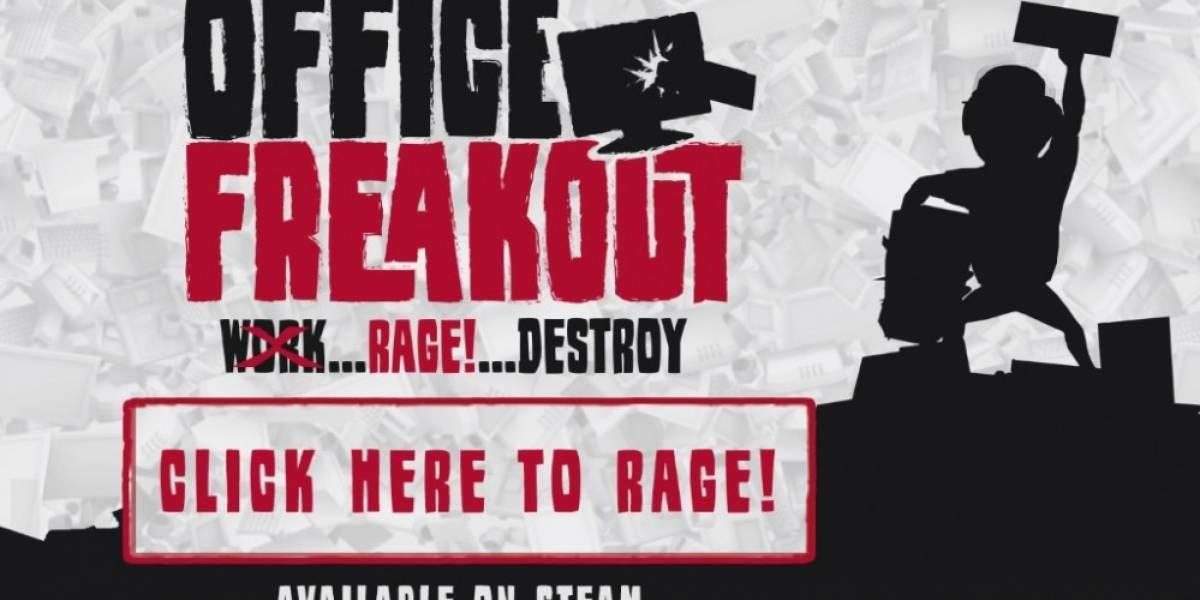 Office Freakout es el juego de los oficinistas enojados