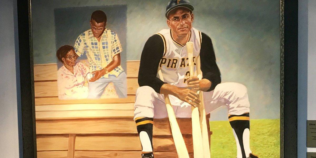 Exhiben óleo de Roberto Clemente en el San Jorge Children's Hospital