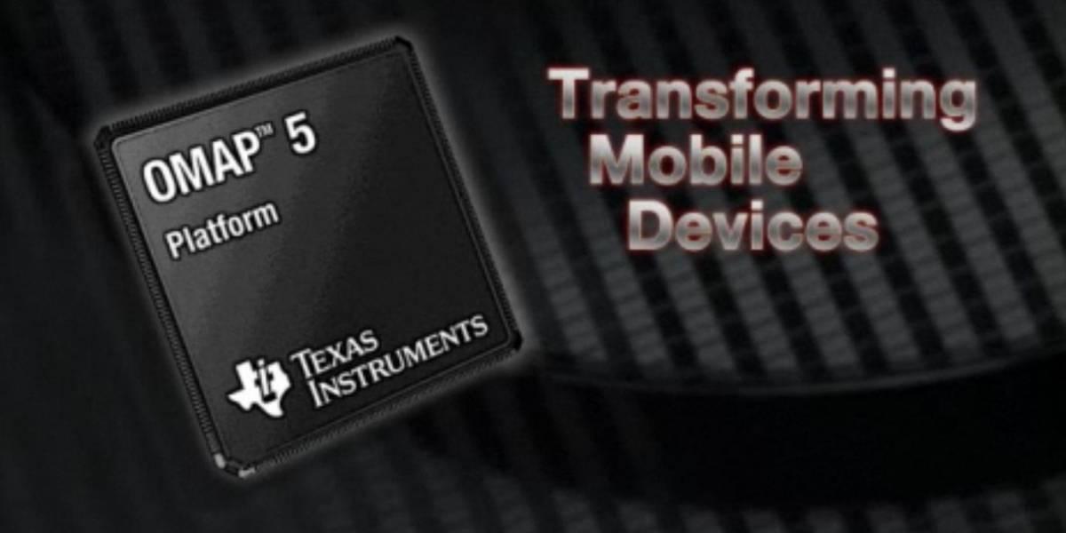 OMAP 5 podrá soportar hasta 8GB de memoria RAM