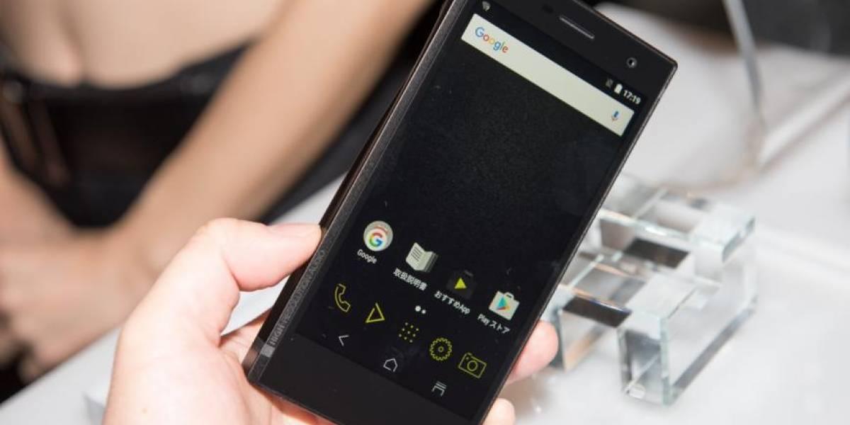 Onkyo lanza un teléfono para los audiófilos