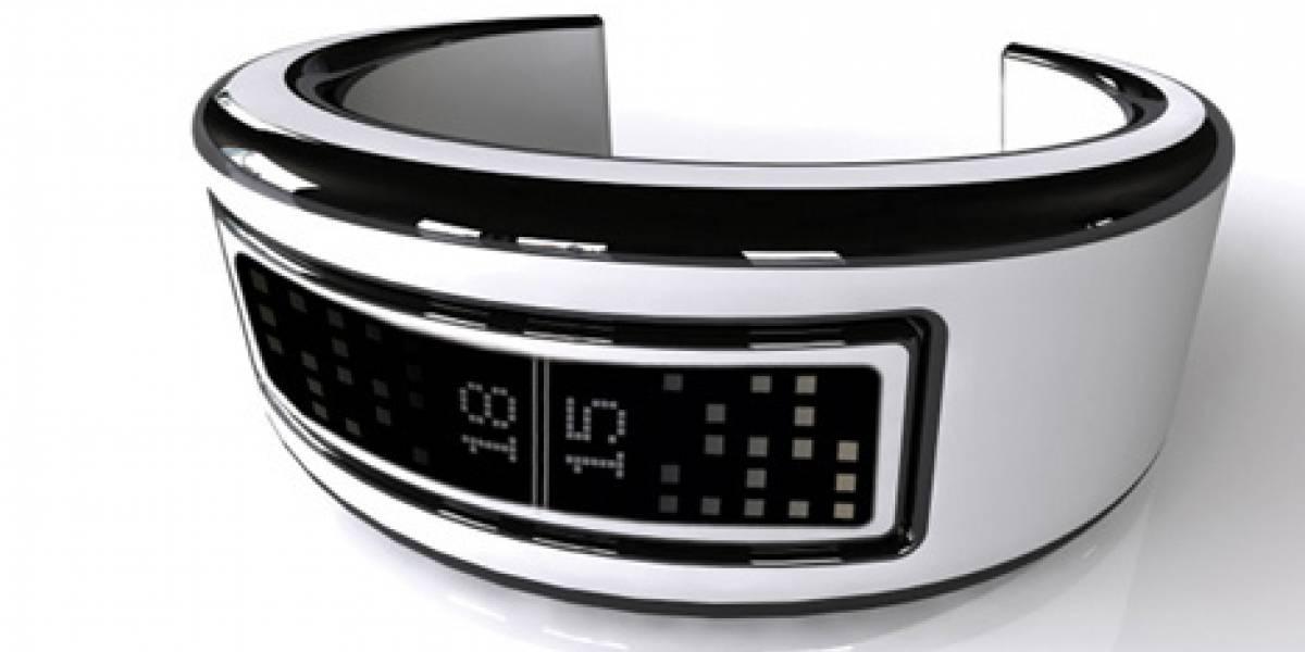 Concepto: Celular pulsera On Time deslumbra por su estilo