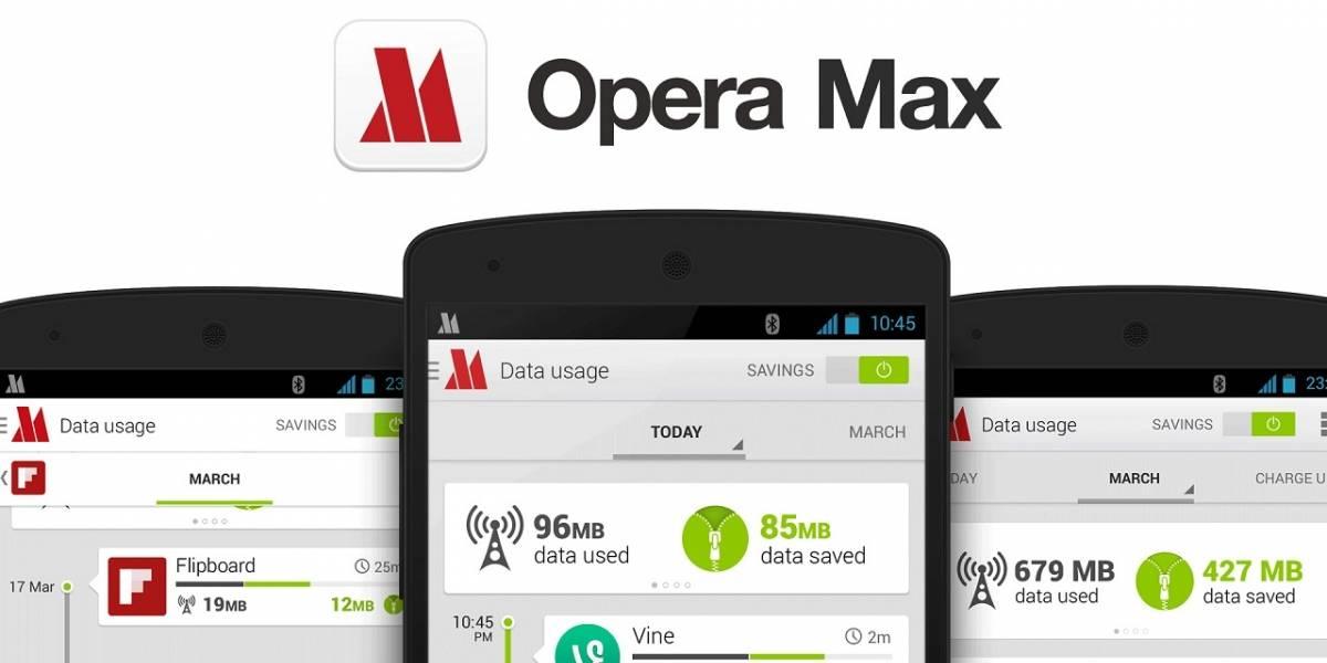 Opera Max introduce modo de optimización ilimitado