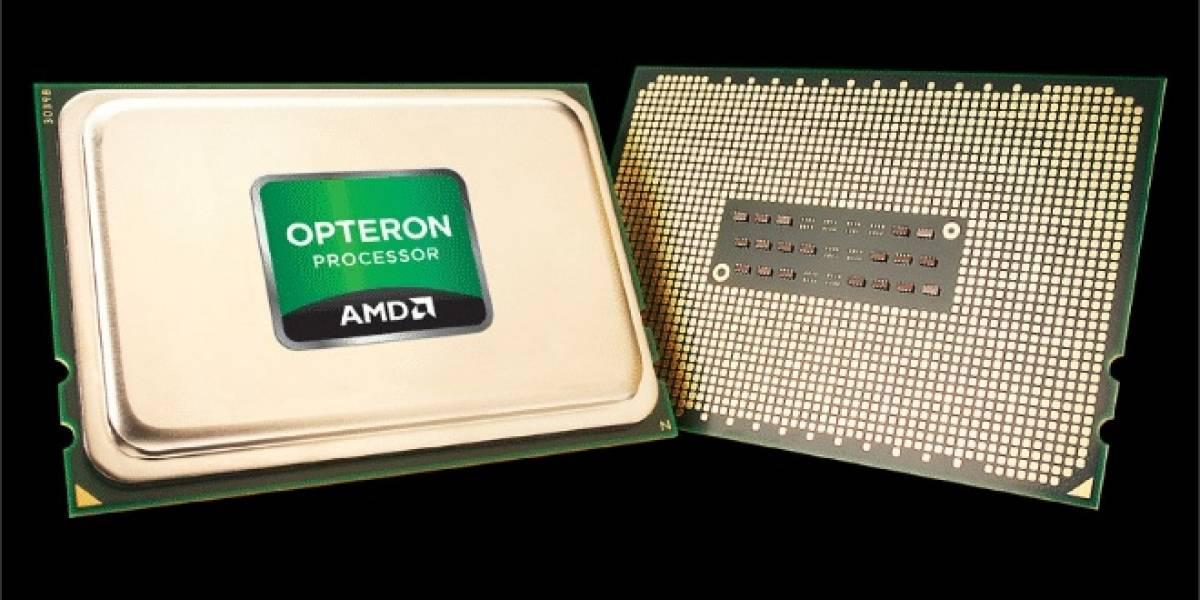 AMD lanza sus microprocesadores Opteron 3300 y 4300 Series