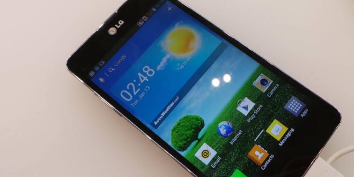 MWC13: Un vistazo a la versión 'mejorada' del LG Optimus G que llegará a España en abril