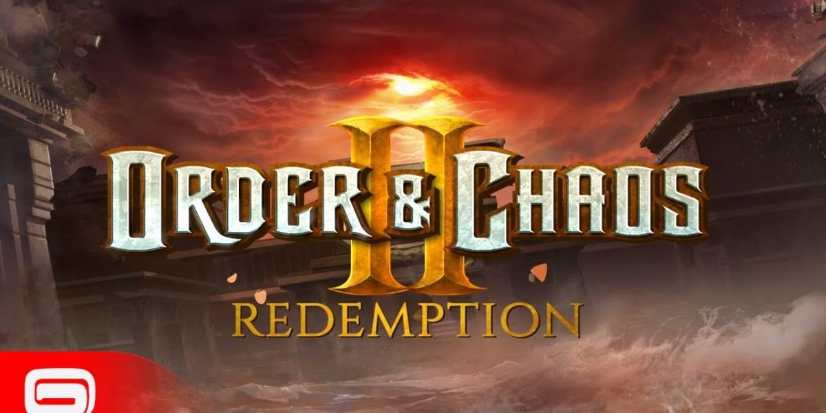 Gameloft anuncia Order & Chaos II Redemption