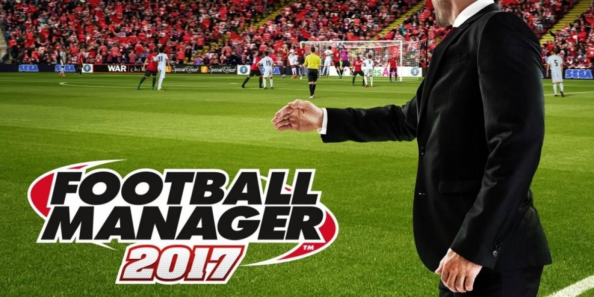 Football Manager 2017 será free-to-play este fin de semana