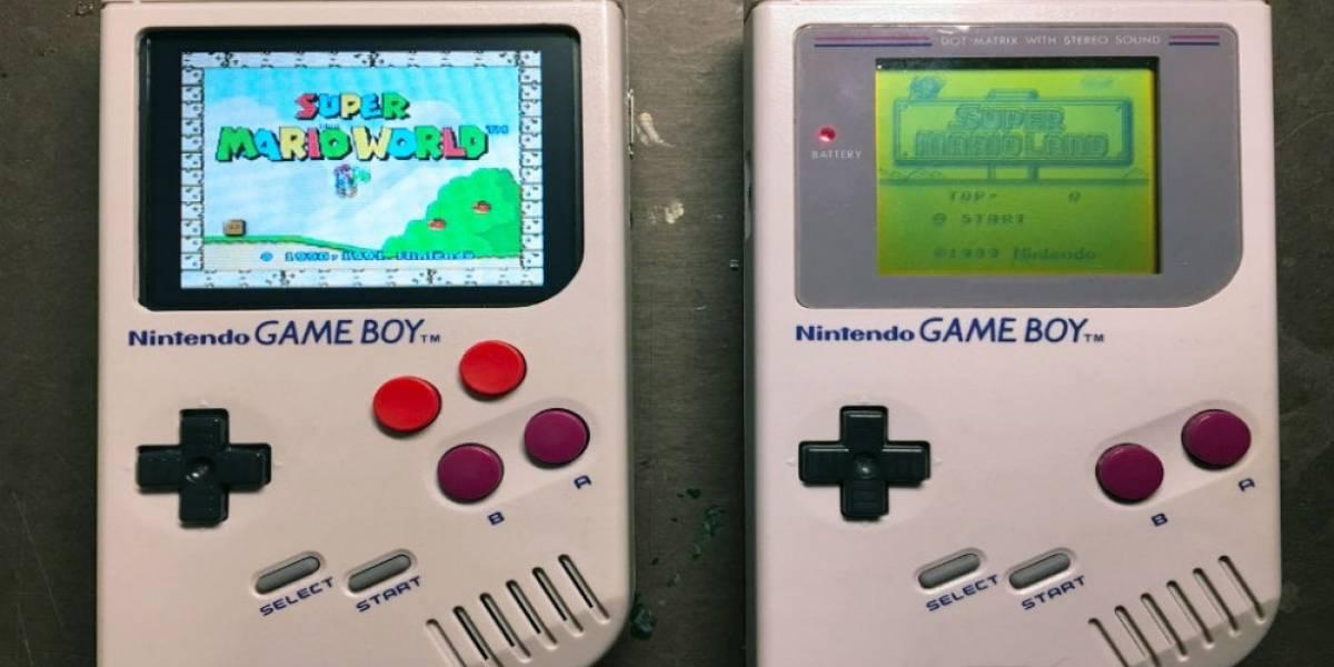 Convierten el clásico Game Boy en un emulador de SNES, NES y GBA