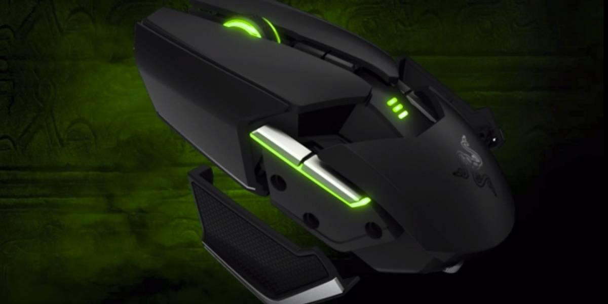 Razer estrena un complejo mouse para gamers