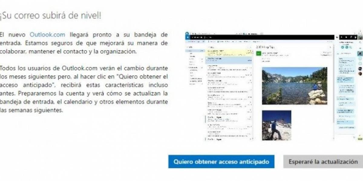 Prueba el nuevo Outlook accediendo a la versión preliminar