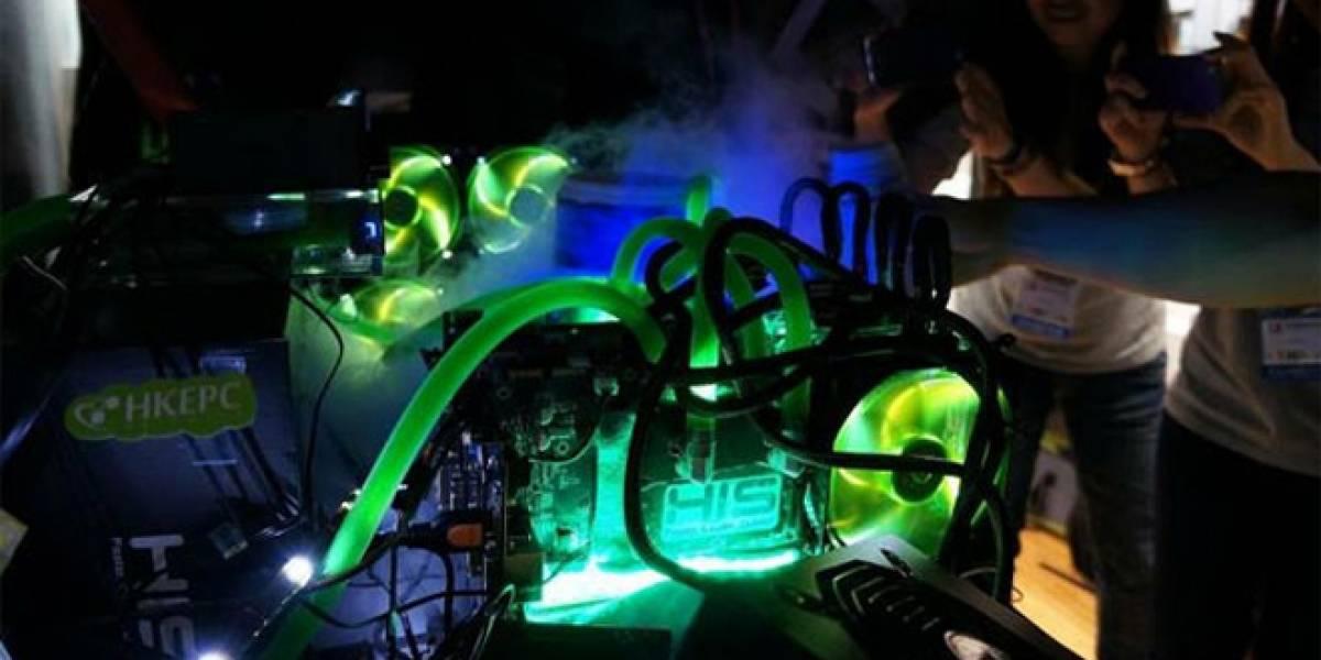 Cuatro Radeon HD 7970 rompen récord mundial en 3DMark Vantage