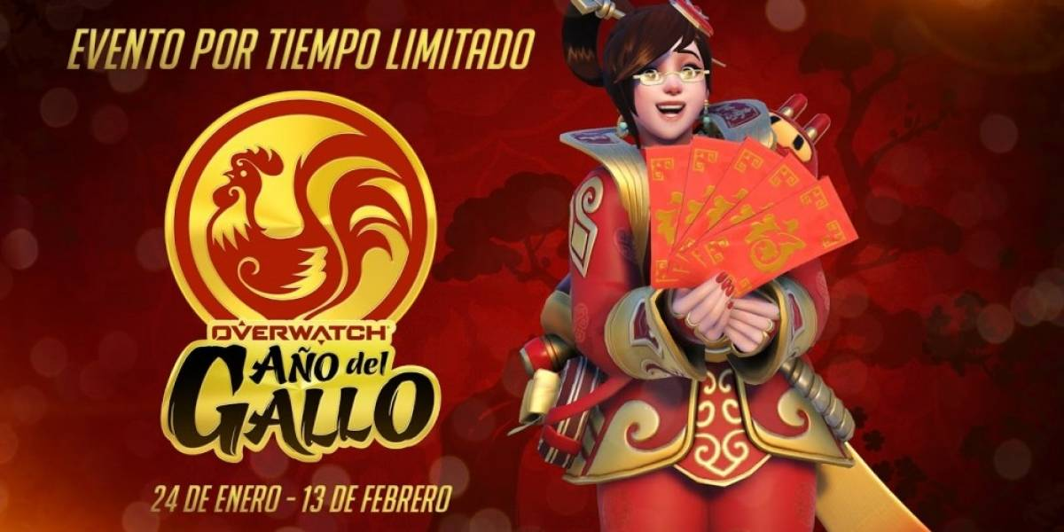 Arranca el evento del Año del Gallo en Overwatch