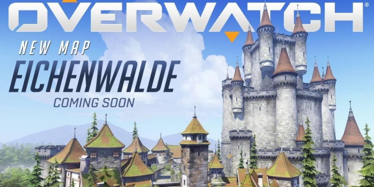 Eichenwalde es el nuevo mapa de Overwatch #gamescom2016