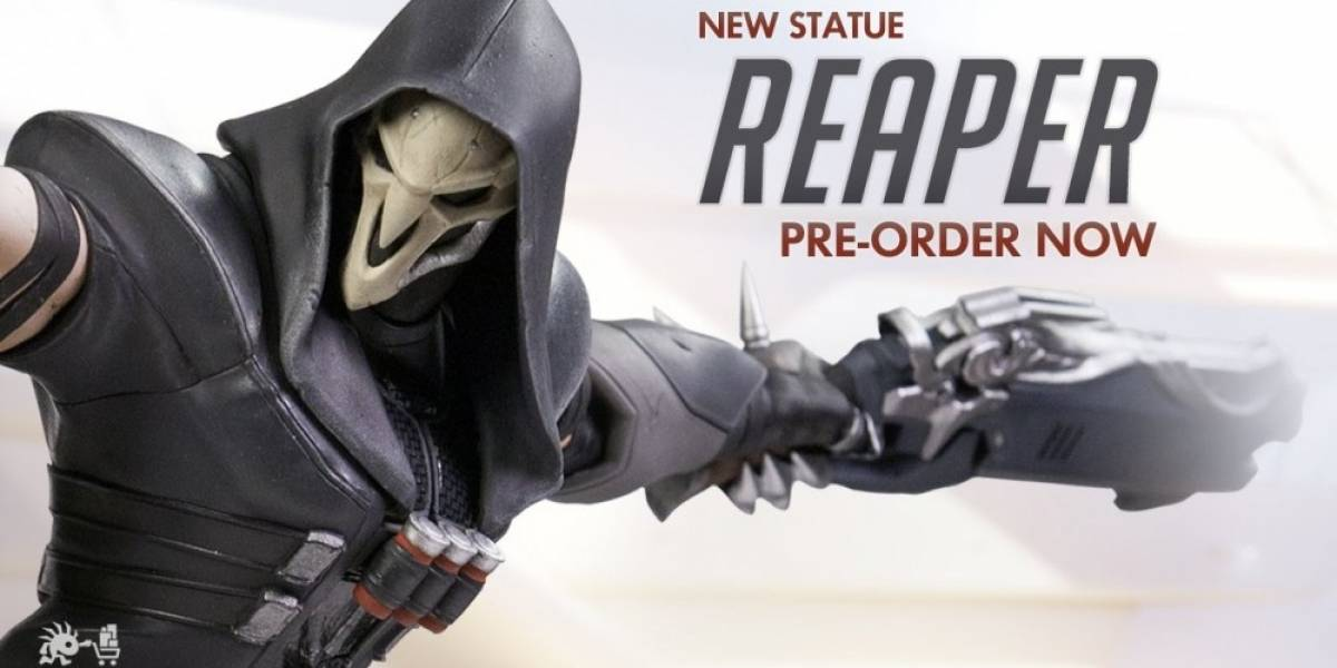 Blizzard presenta figura coleccionable de Reaper de Overwatch