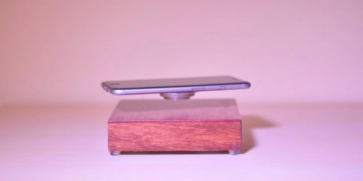 Este cargador inalámbrico hace que tu teléfono flote